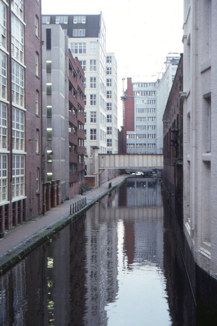 Manchester: Rochdale Canal, 1994