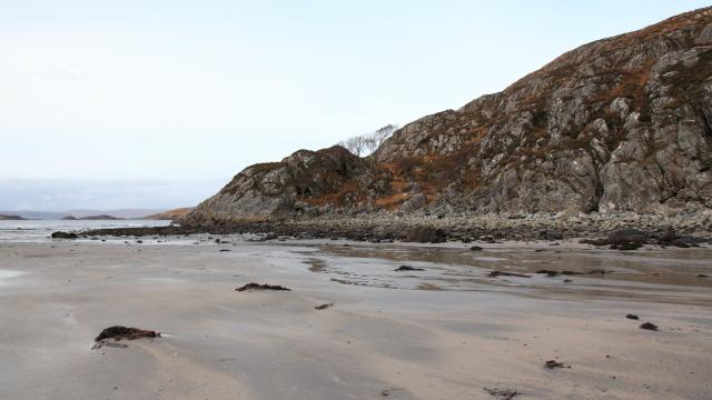 Sandy Knoydart Beach