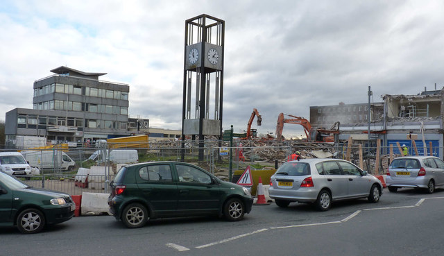 Demolition in Keynsham
