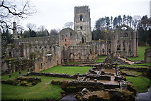 SE2768 : Fountains Abbey by Bill Boaden
