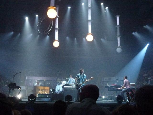 Keane in concert, Nottingham Arena - 28th November 2012