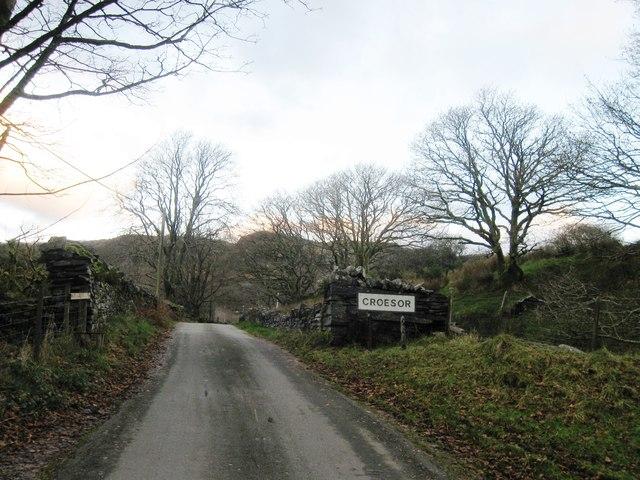 Entrance to Croesor