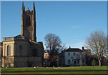 SK3536 : Derby - Cathedral Green by David Hallam-Jones