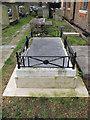 TQ1877 : St Anne's church, Kew: Gainsborough tomb by Stephen Craven
