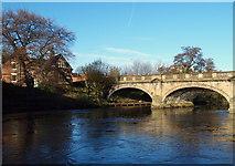 SK3536 : Derby - St Mary's Bridge by David Hallam-Jones