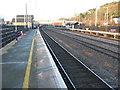 TL1748 : Sandy railway station, Bedfordshire by Nigel Thompson