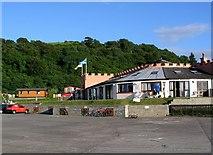 NM8632 : Ganavan Sands Holiday Park by Steve Houldsworth