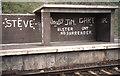 J4288 : Shelter, Downshire station,  Carrickfergus (1985) by Albert Bridge