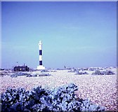 TR0916 : Dungeness new lighthouse, 1967 by GH Clarke