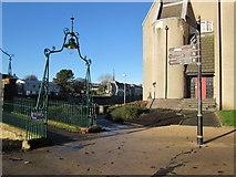 NS3421 : Turner's Footbridge, Ayr by Billy McCrorie