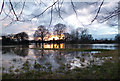 SU6189 : Flooded Fields, Crowmarsh by Des Blenkinsopp