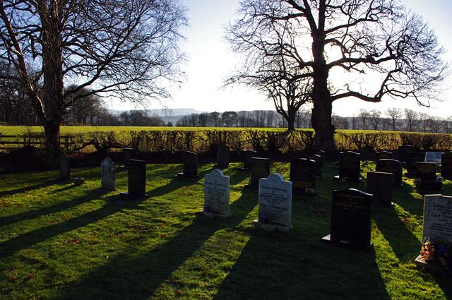 Halton burial ground