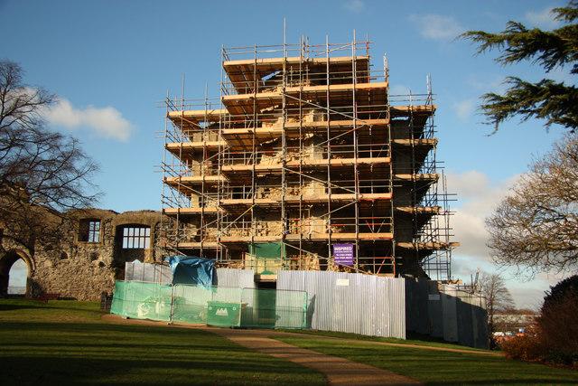 Castle restoration