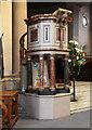 TQ2873 : St Mary & St John, Balham - Pulpit by John Salmon