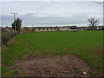 SO6892 : Barns at Bridgwalton Farm by Richard Law