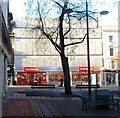 ST3188 : New city centre Iceland store, Newport by Jaggery