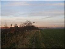 SE0722 : Calderdale Way on Greetland Moor by John Slater