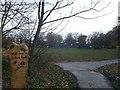 TQ5881 : Entrance to Dilkes Park, South Ockendon by David Anstiss
