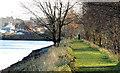 J3675 : Embankment, Victoria Park, Belfast (3) by Albert Bridge