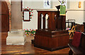 TQ2176 : St Michael & All Saints, Barnes - Pulpit by John Salmon