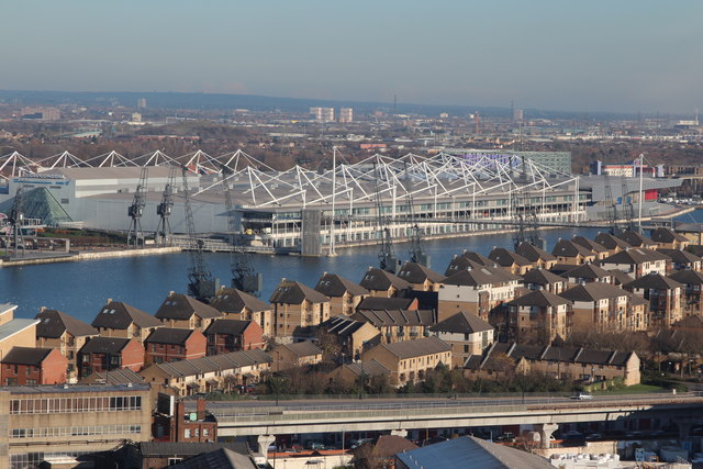 Victoria Dock and ExCel