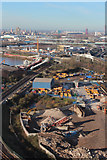 TQ3980 : Industrial area near Dock Road by Oast House Archive