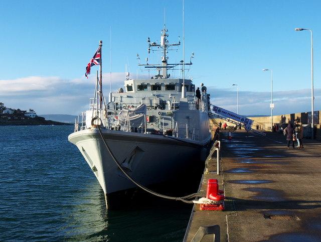 HMS 'Pembroke' at Bangor