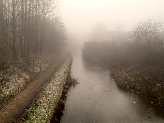 Foggy Canal, Radcliffe