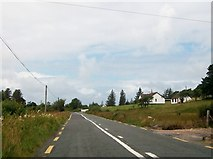 G7797 : Recently built house on the N56 south of Maas, Co Donegal by Eric Jones