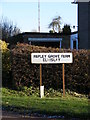 TL2761 : Papley Grove Farm sign by Adrian Cable