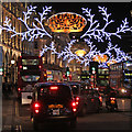 TQ2981 : Christmas Lights, Regents Street by Oast House Archive