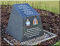 J4973 : Newtownards WWII air raid memorial by Albert Bridge