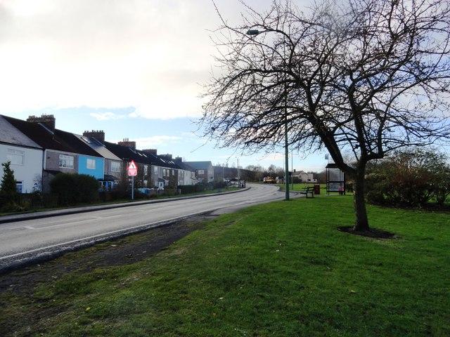 Chester Street, Waldridge village