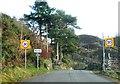 SH6341 : Entrance to Rhyd by Alex McGregor