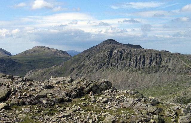 Rocks at summit of Long Top