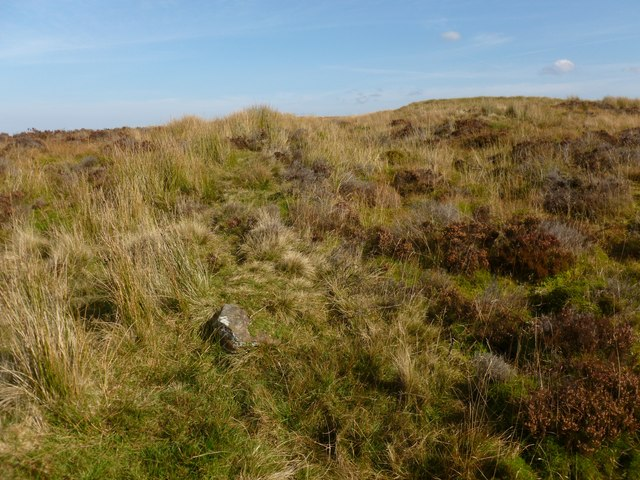 Remains of a boundary
