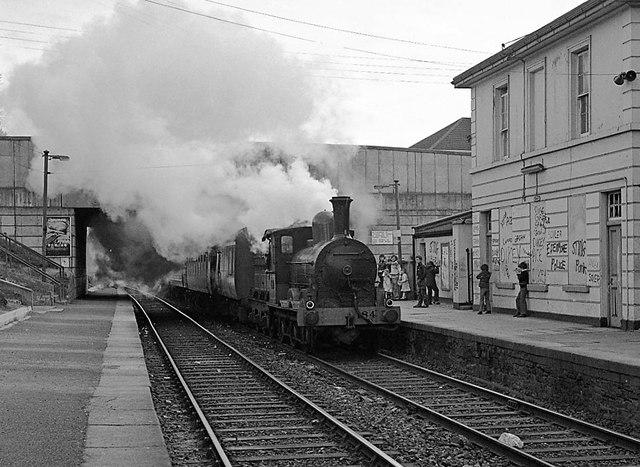 Steam train at Raheny
