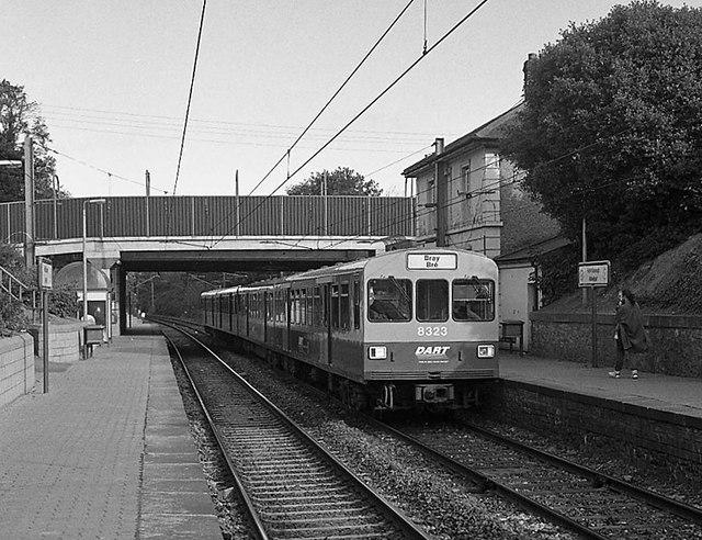 DART train at Raheny