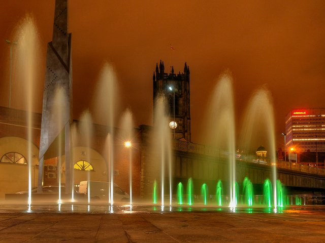 Fountains at Greengate
