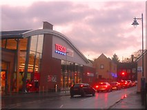 TM3863 : New Tesco Store on Church Road, Saxmundham by Ed of the South