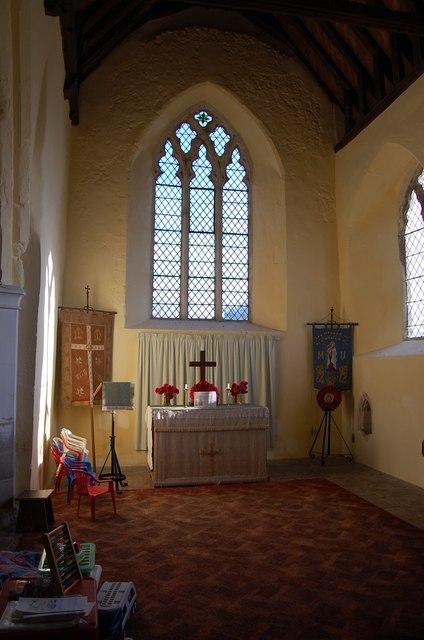 Lady Chapel, Ruckinge church