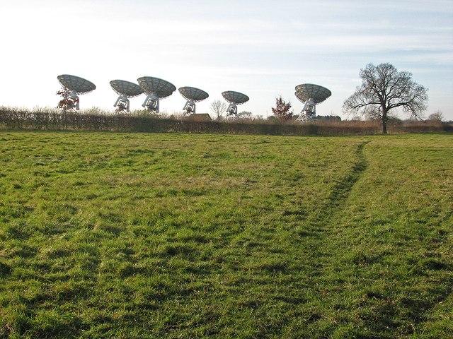 Towards the telescopes