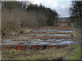 SD7506 : Manchester, Bolton and Bury Canal, Creams Paper Mill Site. by David Dixon