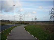 SE6451 : Link road from Grimston Bar by DS Pugh