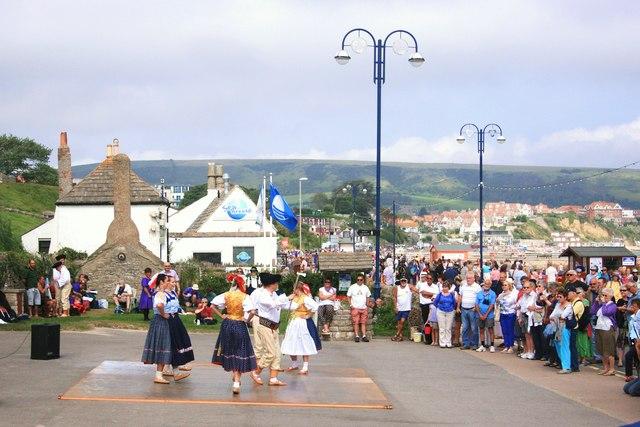 Slovakian Dancing in Swanage