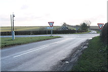 TF2880 : Crossroads near Cawkwell by J.Hannan-Briggs