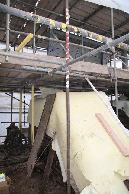 Guillotine lock under renovation