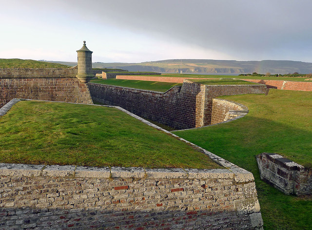 Ramparts of Fort George