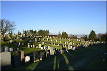 NS2676 : Greenock Cemetery by wfb