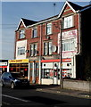 SS8382 : Ladbrokes and Royal Garden, Kenfig Hill by Jaggery